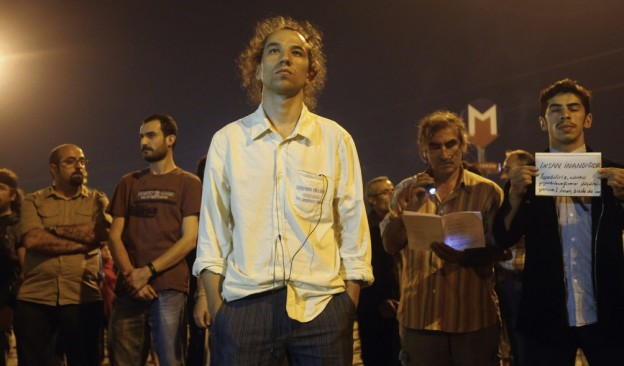 Protesto silencioso na Turquia 1