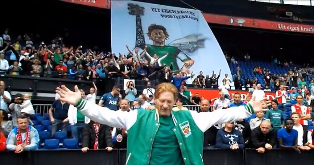 Fanático por futebol, torcedor recebe homenagem em seus últimos dias de vida 1