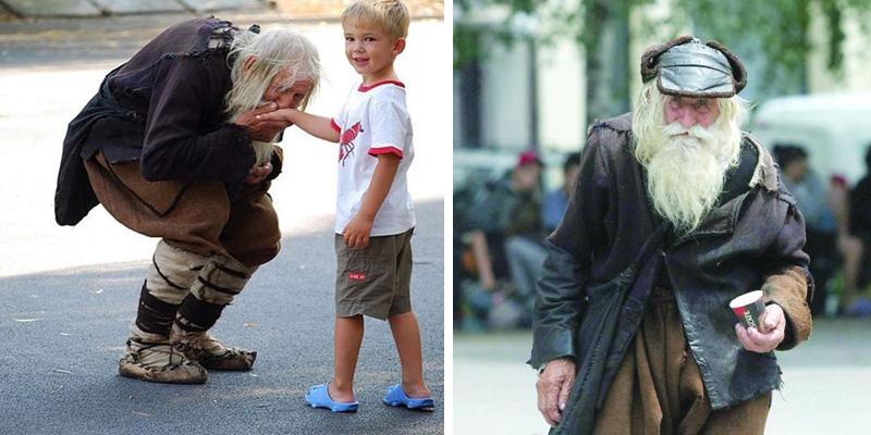Morador de rua doa tudo que arrecada em moedas para outros moradores de rua, orfanatos e igrejas 1