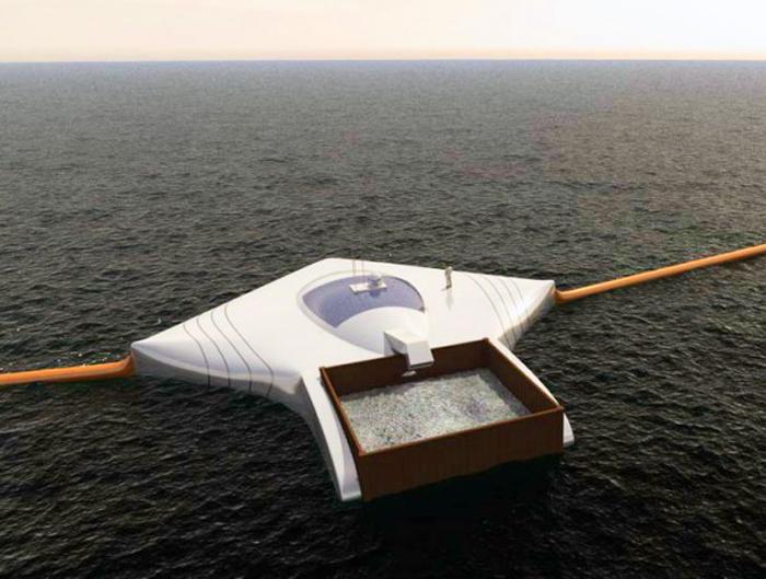 Estudante de 19 anos cria uma máquina que é capaz de limpar todo o plástico dos oceanos em 5 anos 2
