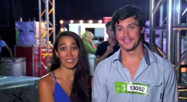 Casal mostra cumplicidade e talento em audição do X-Factor 1