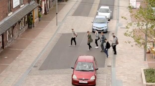 Uma cidade sem calçadas ou semáforos, e funciona! 1