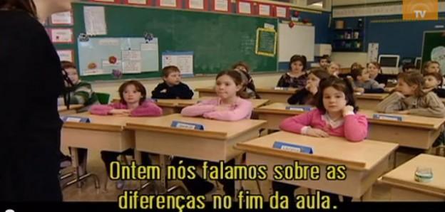 Professora faz experimento para mostrar a discriminação em escola no Canadá 1