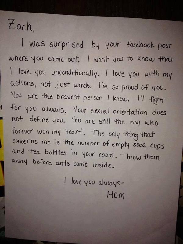 carta filho gay facebook