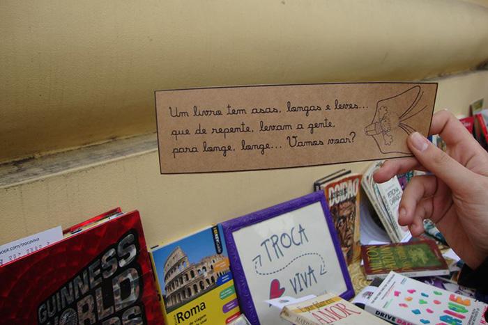 Espaços públicos recebem trocas de livros e brinquedos usados em POA 2