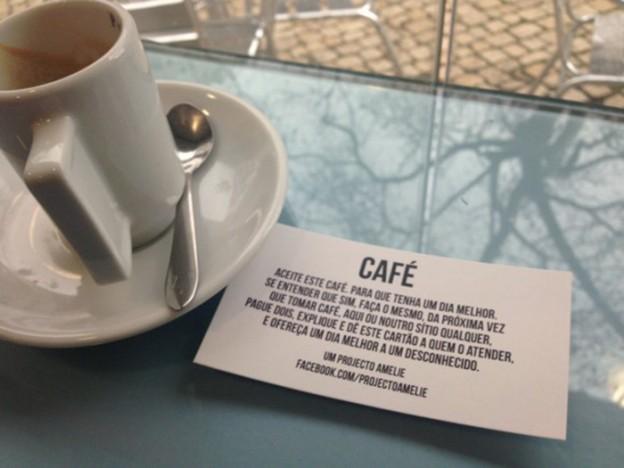 Projeto leva palavras de gentileza a desconhecidos em locais públicos 1