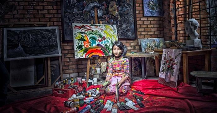 Crianças pobres do Vietnã encenam profissões de seus sonhos 1