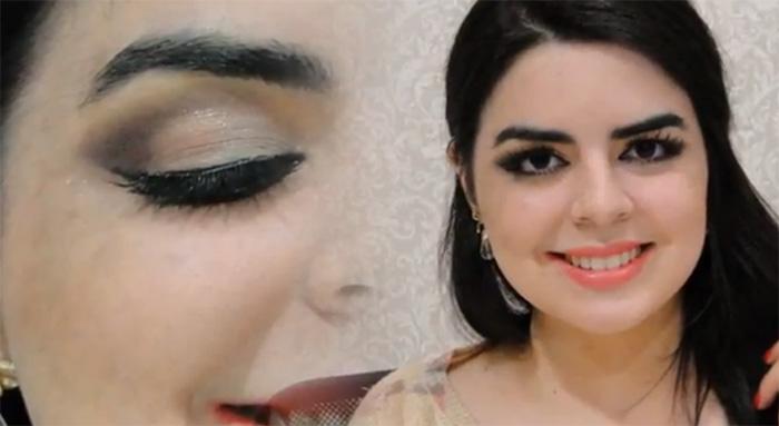 Deficiente auditiva faz blog com tutoriais de maquiagem 1