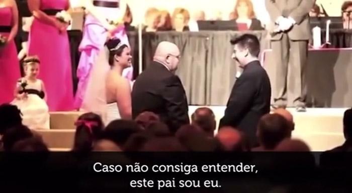 O discurso de um pai para o noivo da sua filha, no dia do casamento 1
