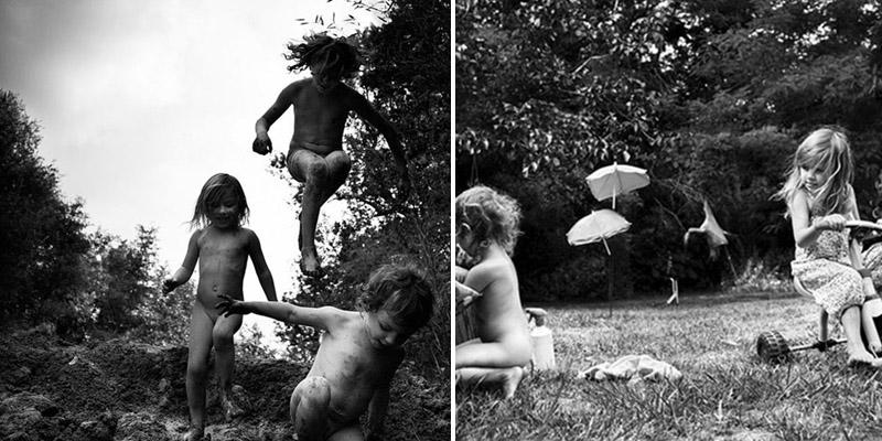 Pai fotografa o cotidiano dos seus 6 filhos criados próximo à natureza 3