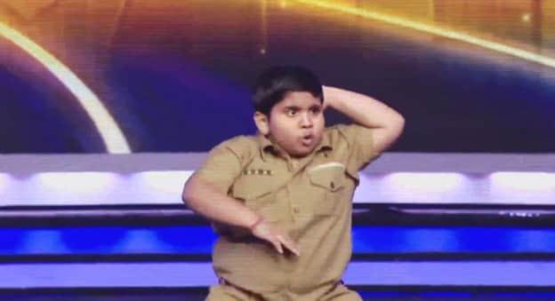 Garoto gordinho rouba a cena dançando no India's Got Talent 1