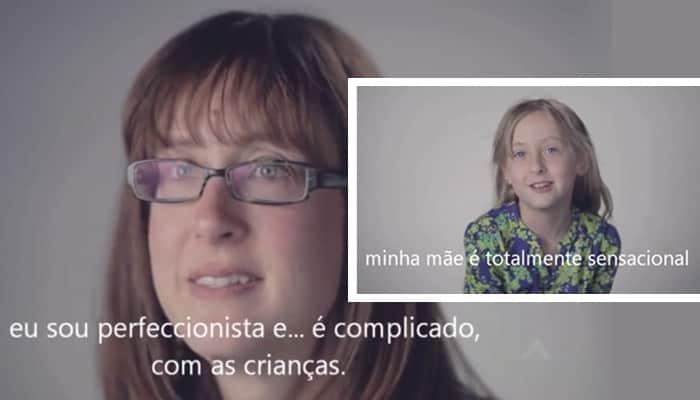Vídeo compara a visão de mães com a de seus filhos sobre o papel delas e o resultado é de arrepiar 3