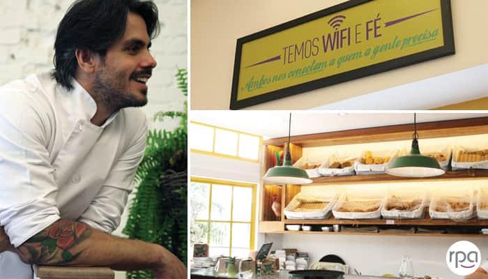 Ele largou a vida corporativa para abrir uma padaria com a cara do Brasil 2