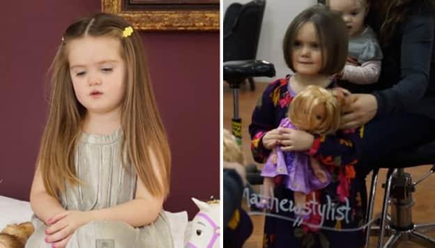 Menina de três anos doa cabelo para crianças com câncer e comove o mundo 1