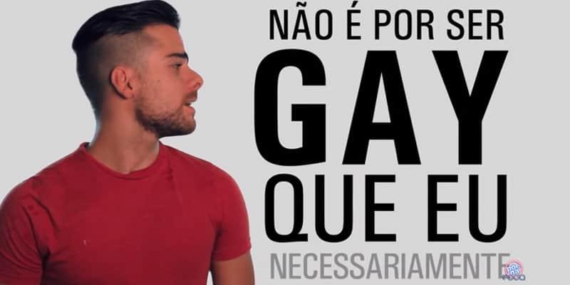 Vídeo brinca com estereótipos gays para mostrar a diversidade sexual 1