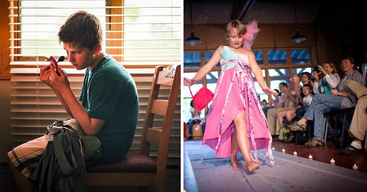 Fotógrafa registra acampamento para meninos com identidade de gênero diferente das que foram designados 1