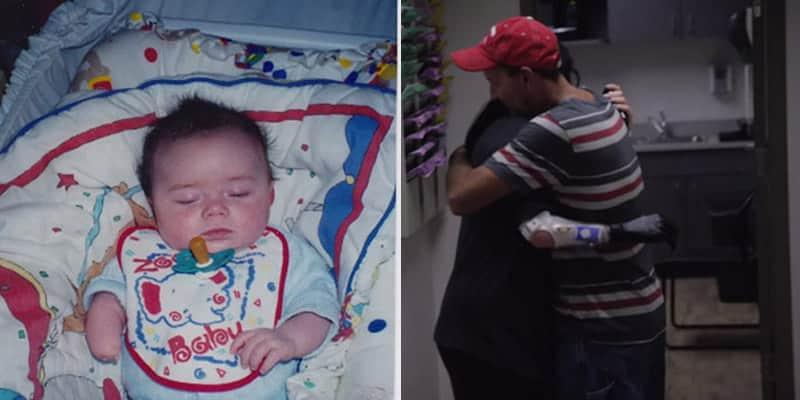 Jovem ganha braço biônico e a primeira coisa que faz é abraçar seu pai 1