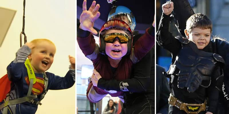 Crianças com problemas de saúde realizam sonho de serem super-heróis por um dia 1