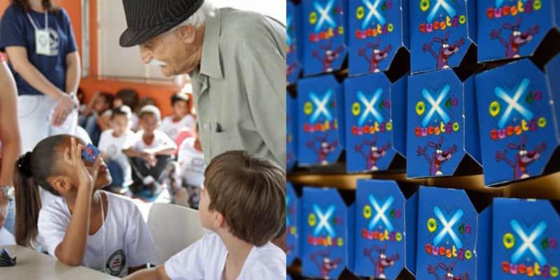 Marceneiro de 86 anos criou um jogo para ensinar tabuada às crianças de forma divertida 1