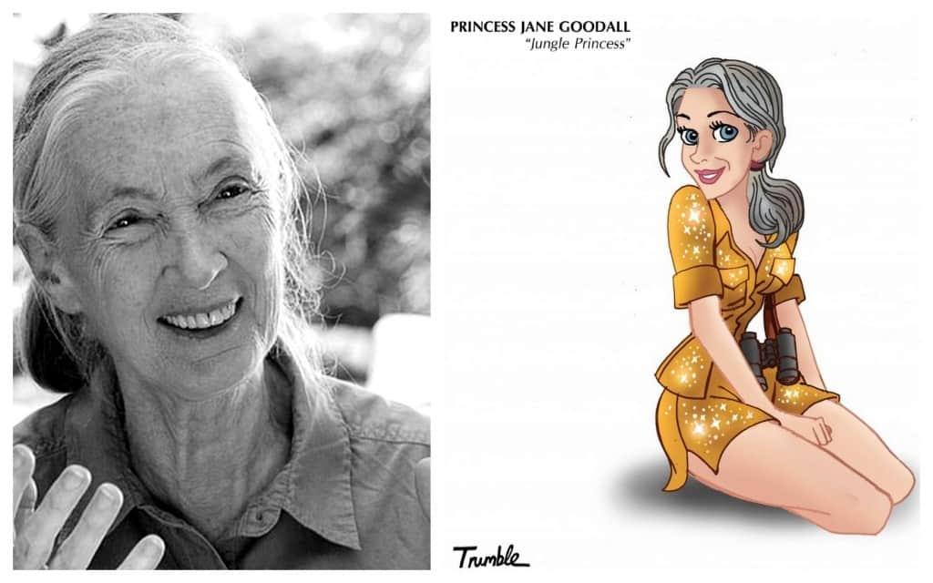 Princesa Jane Goodall