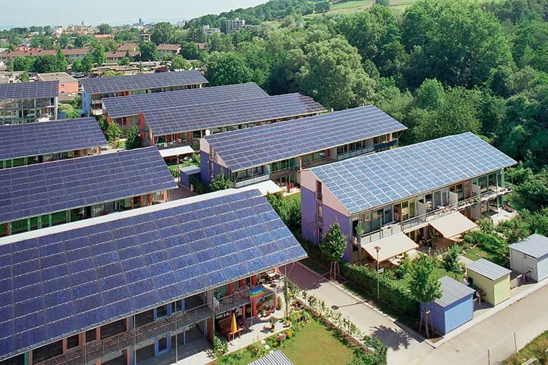Solarsiedlung_Dachaufsicht