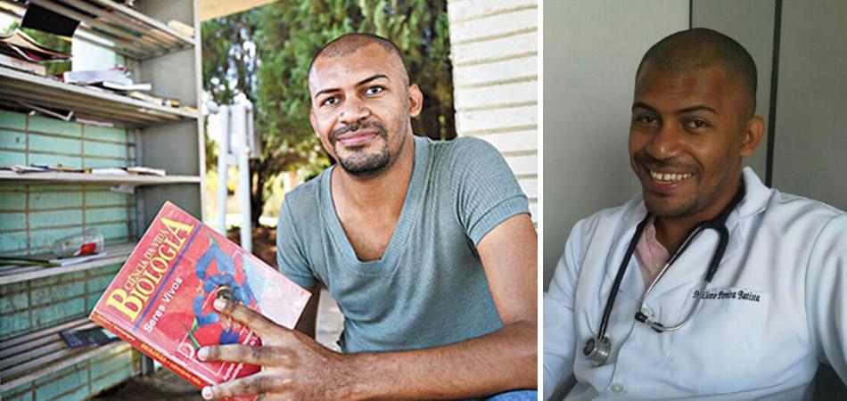 Jovem se torna médico com ajuda de livros encontrados no lixo e em paradas de ônibus 1