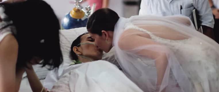 Homem em estágio terminal de câncer morre horas depois de seu casamento 3