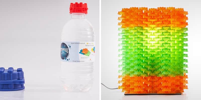 Empresa brasileira cria tampas de garrafas que viram peças de montar 2