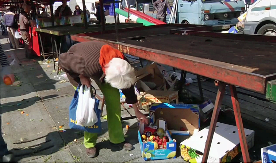 in-the-documentary-about-her-life-living-without-money-shes-seen-foraging-for-leftover-produce-at-fresh-air-markets-where-she-might-ask-vendors-for-unwanted-leftovers-or-find-them-discarded-in-heaps-on-the-groun