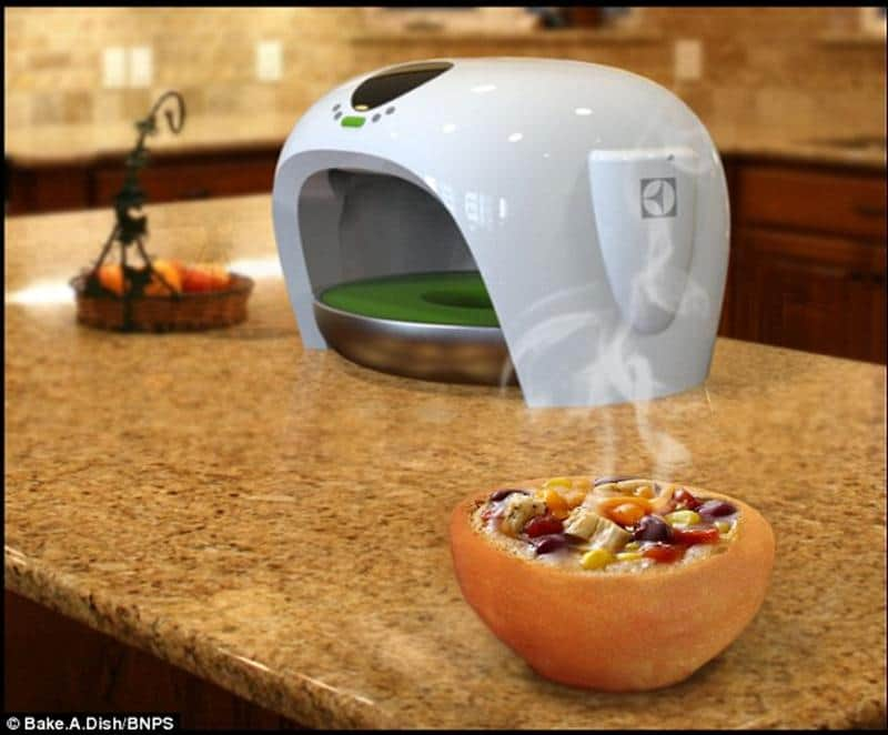 Asse os próprios pratos (também os coma literalmente!) e nunca mais lave louça 1