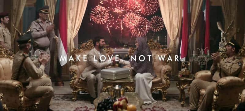 Marca direciona seus esforços para promover a paz mundial e o amor 2