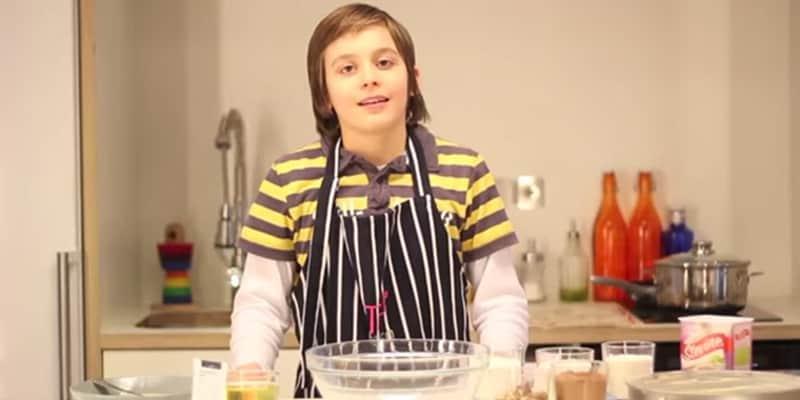 Garoto de 12 anos é chef e desenvolve vários projetos em prol da alimentação saudável 1