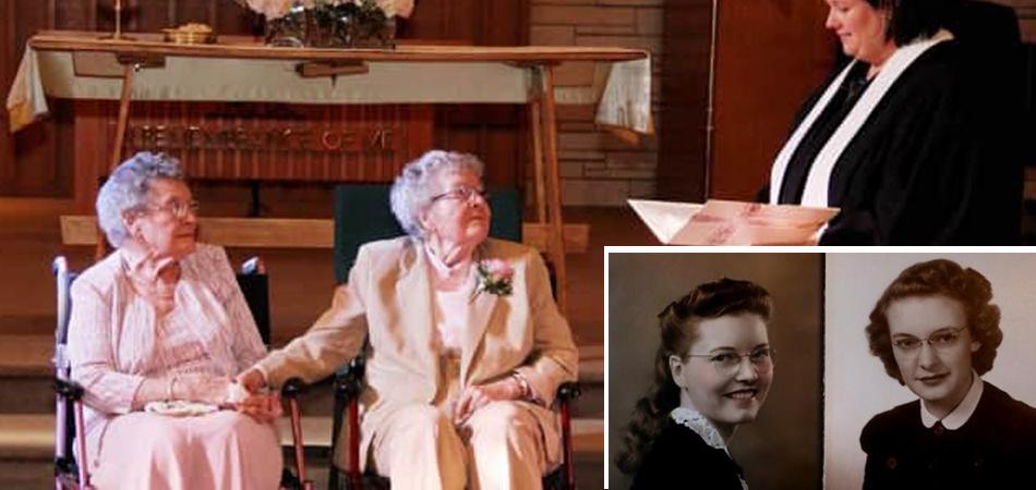 Após mais de 70 anos juntas, elas finalmente puderam se casar nos EUA 1