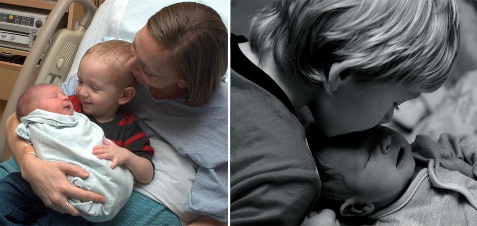 Veja 40 fotos de crianças ao verem seus irmãos recém-nascidos pela primeira vez 2