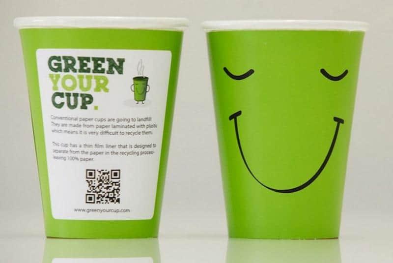 O Reino Unido terá o primeiro copo de café totalmente reciclável 4