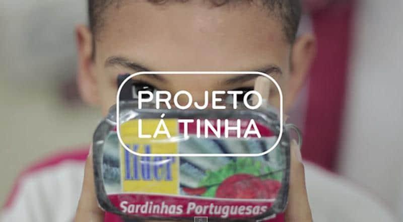 Projeto transforma latas de sardinha em câmeras fotográficas e propõe novas perspectivas de futuro para crianças carentes 1