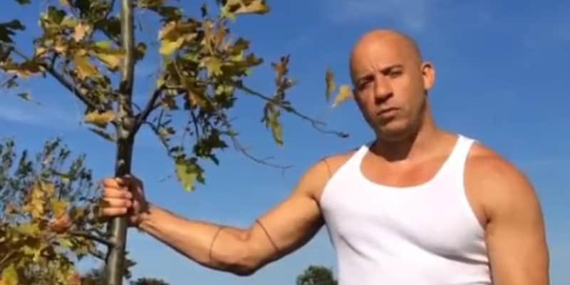 "Vin Diesel lança desafio ""Plante uma Árvore para Groot"" 1"