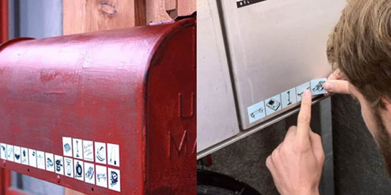 Conheça os adesivos que ajudam a dividir seus objetos com vizinhos 1