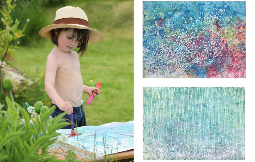 Menina autista de 5 anos é uma gênia da pintura e tem quadros vendidos por milhares de dólares 1