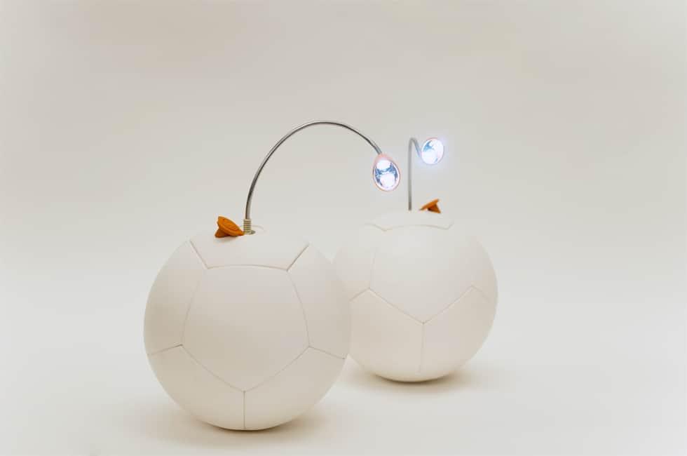 bolas de futebol geram energia elétrica