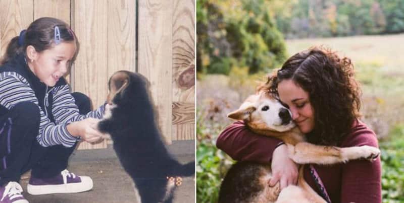 Fotógrafa diz adeus à sua cachorra de 16 anos em tocante ensaio de fotos 2