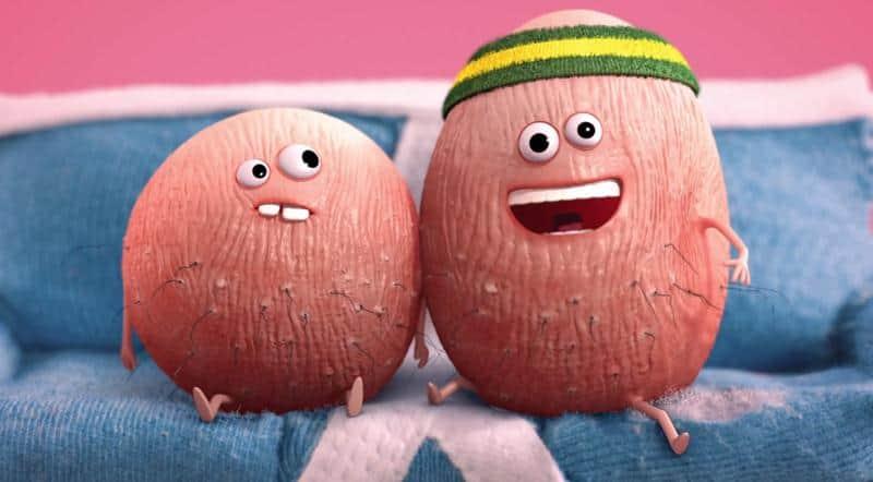 Campanha contra câncer testicular incentiva você a se checar com hilária animação