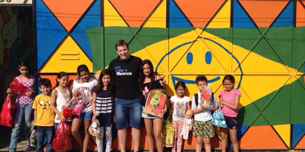 Conheça uma iniciativa simples e que fez mais feliz o dia de algumas crianças
