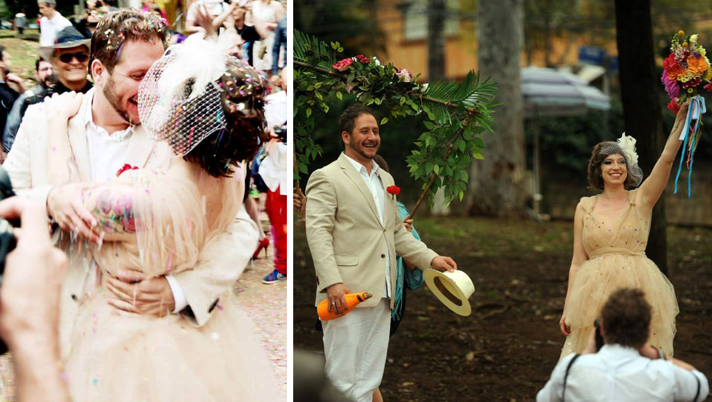 Amor de Carnaval casamento