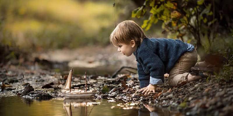 Após um susto de saúde envolvendo seu filho, ele vira fotógrafo para capturar a infância dos filhos 1