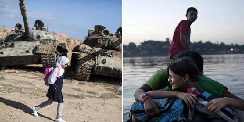 Série mostra crianças ao redor do mundo fazendo seu caminho para ir à escola 2