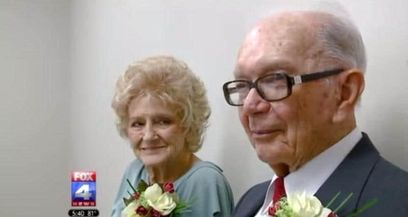Homem de 94 anos se casa com mulher de 89 anos, após se conhecerem no ônibus 1