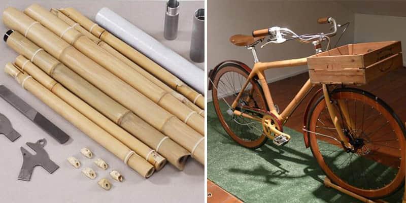 Engenheiro inventa bicicleta de bambu que você mesmo pode montar 1