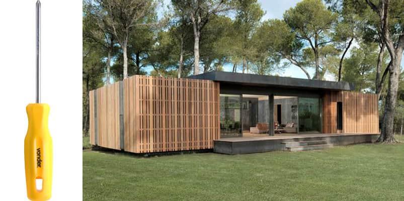 Empresa cria casa que pode ser construída em 4 dias usando apenas uma chave de fenda 2