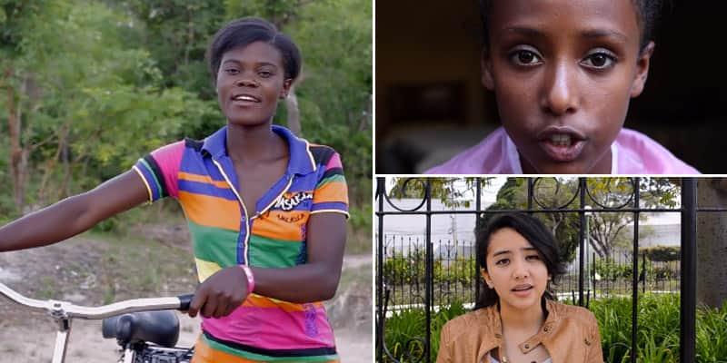 Assista ao vídeo com meninas de 12 países reproduzindo o mais arrebatador discurso de Malala  4